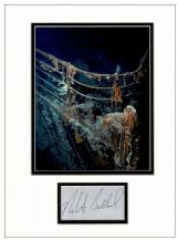 Robert Ballard Autograph Signed Display - Titanic